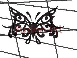 Tribal Tattoo Design Element Style 26 (Decal - Sticker)