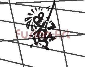 Tribal Tattoo Design Element Style 27 (Decal - Sticker)