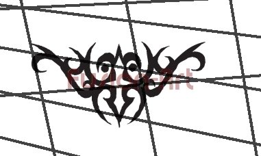 Tribal Tattoo Design Element Style 28 (Decal - Sticker)