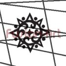 Tribal Tattoo Design Element Style 48 (Decal - Sticker)