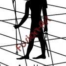 Egyptian God Asar-Hap Silhouette  (Decal - Sticker)