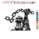 Patricio Rev Oktubre Band Music Artist Logo Decal Sticker