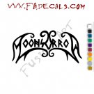 Moonsorrow Band Music Artist Logo Decal Sticker