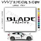 Blade Trinity Movie Logo Decal Sticker