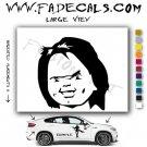 Childs Play Chucky Head Movie Logo Decal Sticker