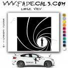 James Bond Intro Movie Logo (Decal Sticker)
