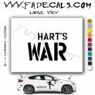 Harts War Movie Logo (Decal Sticker)