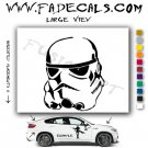 Storm Trooper Star Wars Logo Sith Rebel (Decal Sticker)