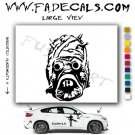 Sandpeople Logo Star Wars Sith Rebel (Decal Sticker)