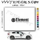 Element For Life  Skateboarding Brand Logo Decal Sticker