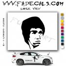 Bruce Lee Movie Logo Decal Sticker