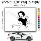 Bianca Sleeping Beauty Movie Logo Decal Sticker