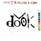 Dook Band Music Artist Logo Decal Sticker