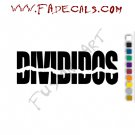 Divididos Band Music Artist Logo Decal Sticker