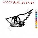 Aerosmith 2 Band Music Artist Logo Decal Sticker