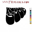 The Beatles Rubber Soul Band Music Artist Logo Decal Sticker