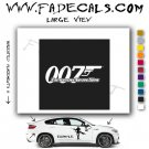 Tomorow Never Dies James Bond Movie Logo Decal Sticker