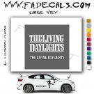 The Living Daylights James Bond Movie Logo Decal Sticker