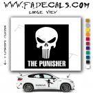 The Punisher Movie Logo Decal Sticker