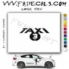 Taxi 3 Movie Logo Decal Sticker