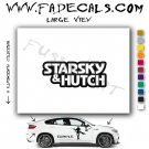 Starsky and Hutch Movie Logo Decal Sticker