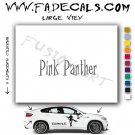 Pink Panther Movie Logo Decal Sticker