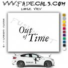Out of Time Movie Logo Decal Sticker