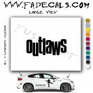Outlaws Movie Logo Decal Sticker