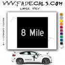 8 Mile Movie Logo Decal Sticker
