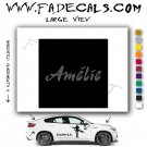 Amelie Movie Logo Decal Sticker