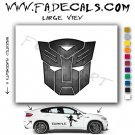 Autobot From Transformers Movie Logo Decal Sticker