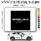Beverly Hills Cop Movie Logo Decal Sticker