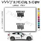Beverly Hills Ninja Movie Logo Decal Sticker