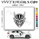 Bills Demon Movie Logo Decal Sticker