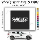 Charlies Angles 2 Movie Logo Decal Sticker