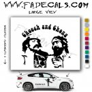 Cheech And Chong Movie Logo Decal Sticker