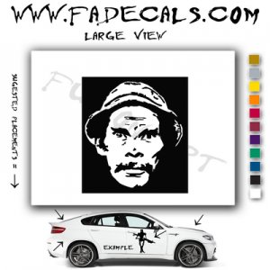 Don Ramon Movie Logo Decal Sticker