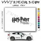 Harry Potter Prisoner Askaban German Movie Logo Decal Sticker
