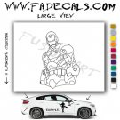 Iron Man Movie Logo Decal Sticker