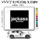 Jackass The Movie Logo Decal Sticker