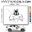 Sylvester Cartoon Style#2 Decal Sticker