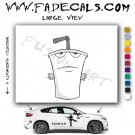 Aqua Teen Hunger Force Master Shake Style#1 Decal Sticker