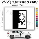 Boondocks Riley Scarface Decal Sticker