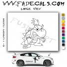Little Koopa Mario Video Game Logo (Decal Sticker)