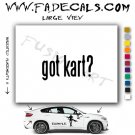 Got Kart Mario Kart Video Game Logo Decal Sticker