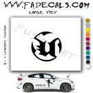 Unreal Video Game Logo Decal Sticker