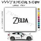Zelda Video Game  Logo Decal Sticker