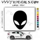 Alien ET Extra-Terrestrial S.E.T.I. Area 51 Silhouettes #24 (Decal - Sticker)