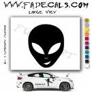 Alien ET Extra-Terrestrial S.E.T.I. Area 51 Silhouettes #27 (Decal - Sticker)