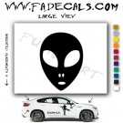 Alien ET Extra-Terrestrial S.E.T.I. Area 51 Silhouettes #31 (Decal - Sticker)